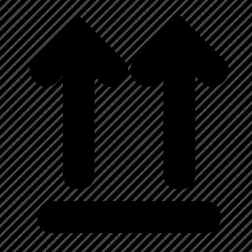 box, up icon