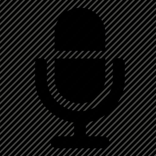 microphone, speaker icon