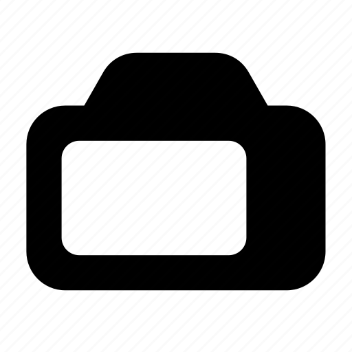 backside, display, photo icon