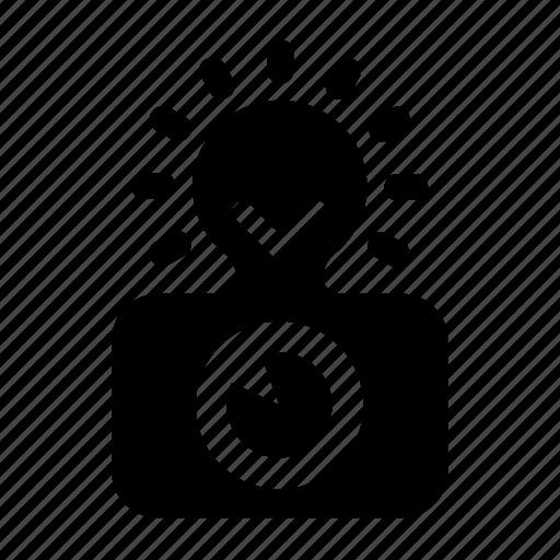 flash, photo icon
