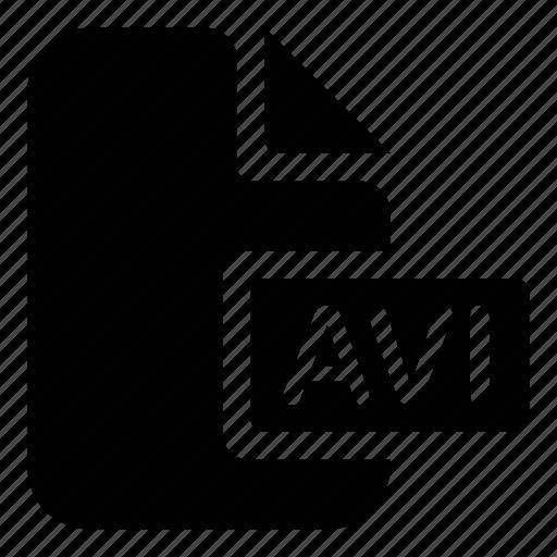 avi, video icon