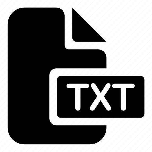document, txt icon