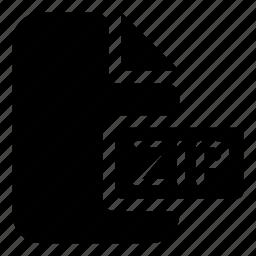 mime, type, zip icon