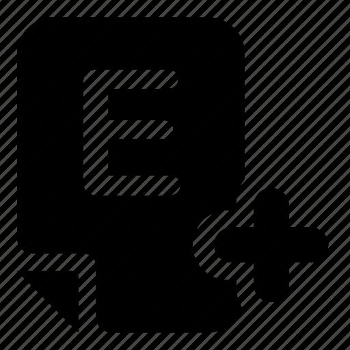 mark, mark-e icon