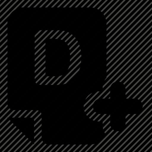 mark, mark-d icon