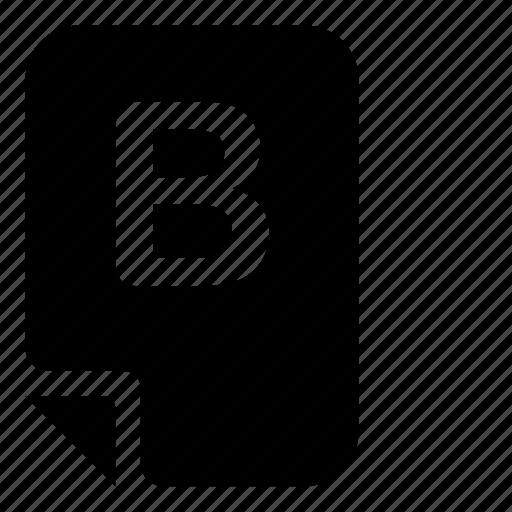 mark, mark-b icon
