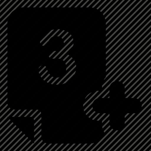 mark, mark-3 icon