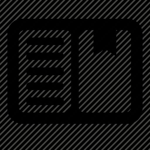 copybook, moleskin, page icon