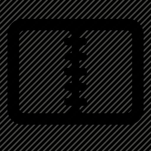 copybook, notebook icon