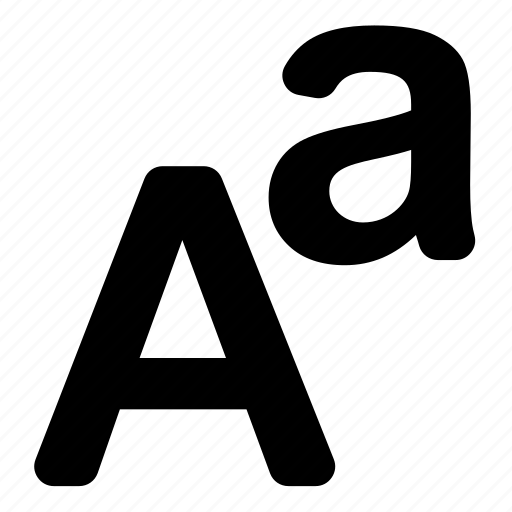 font, language icon