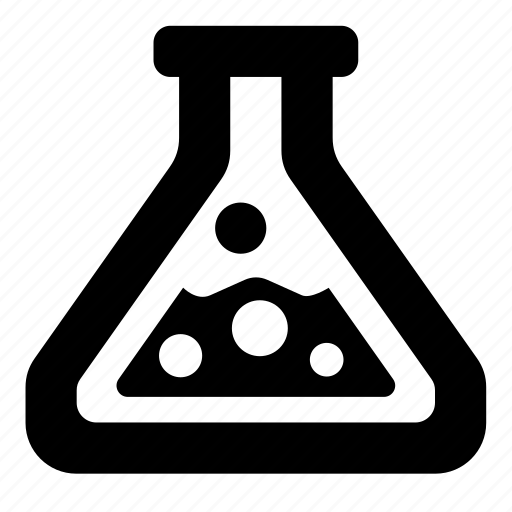 bulb, chemistry, experiment, flask, lab icon