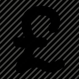 money, pound, sign icon