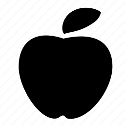 apple, food, vegetable icon