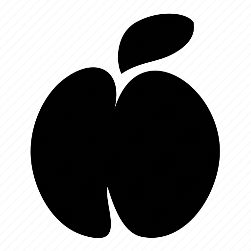 food, peach icon