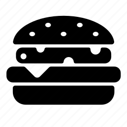 burger, cheeseburger, fastfood, food, hamburger icon