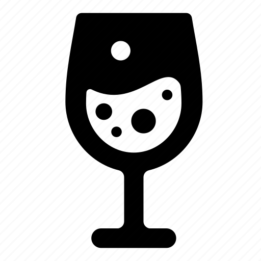 glass, goblet, sparkle icon