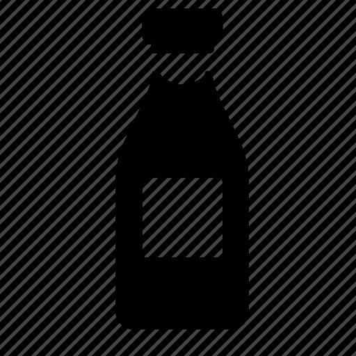 bottle, food, wine icon