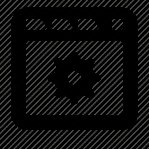 options, site icon