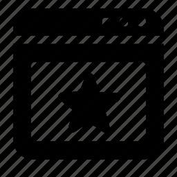 favorite, window icon