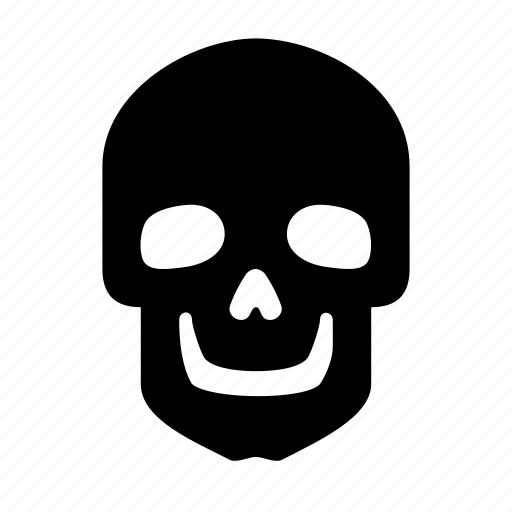 roger, skeleton, skull icon