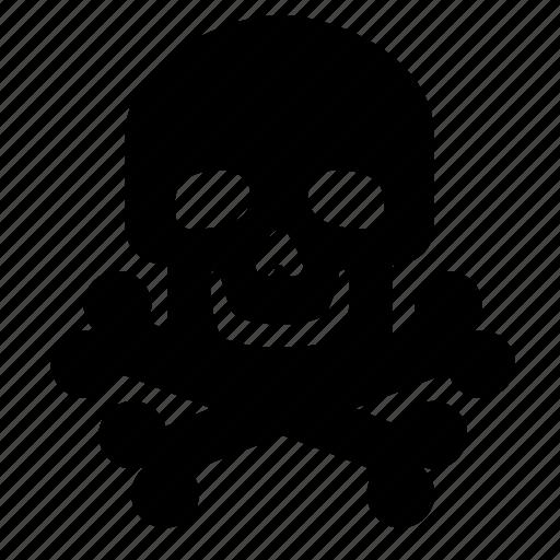 and, bones, jolly, roger, skeleton, skull icon