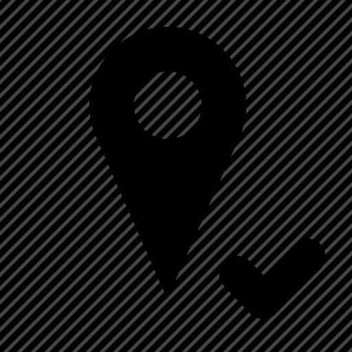 current, geo, location icon