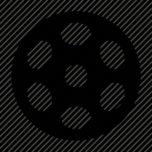 bobbine, film, movie, reel icon