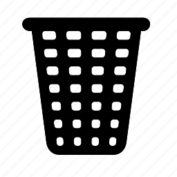bin, navigation, recycle, trash icon