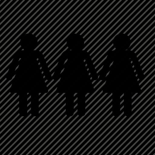 ladys, womans icon