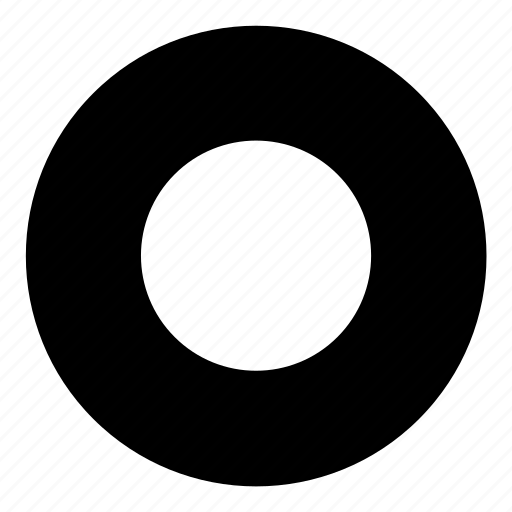button, control, player, record, tube icon