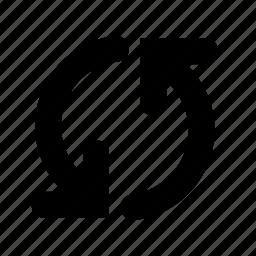 arrow, cloud, refresh, synchronize icon