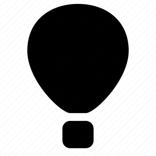 air, baloon, transport, vehicle icon