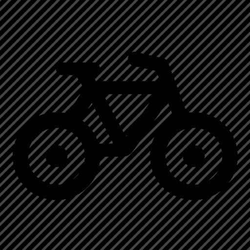 bicycle, bike, transport, vehicle icon