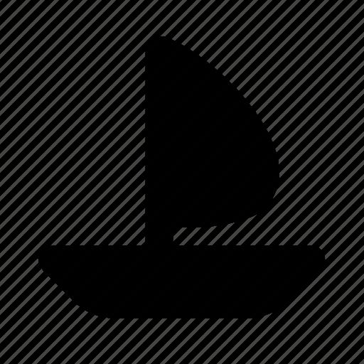 boat, sailfish, ship, transport, vehicle icon