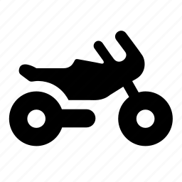 motocycle, transport, vehicle icon