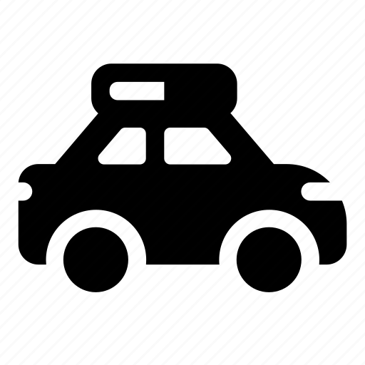 auto, car, police, transport, vehicle icon