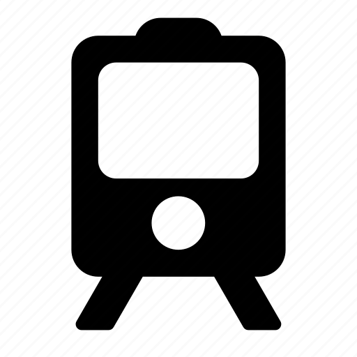 sign, train, transport, vehicle icon