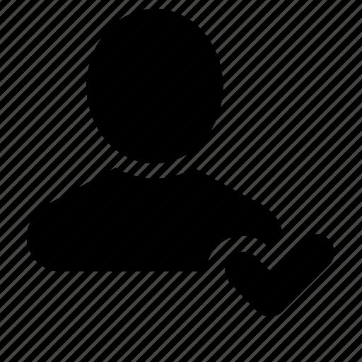 registered, user icon