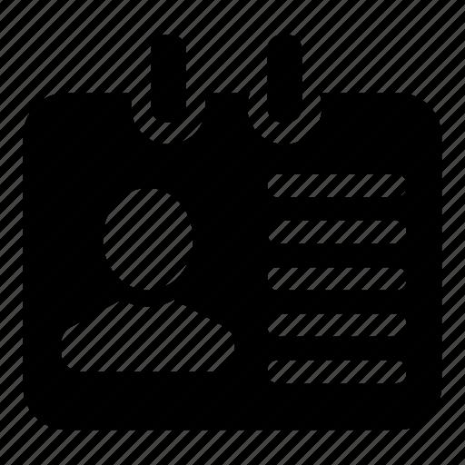 id, profile, resume, vacancy icon