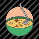 cooking, haiti, independence, joumou, meal, pumpkin, soup