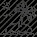 cyprus, palm, resort, vacation
