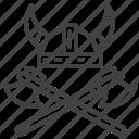 axes, hat, sweden, viking