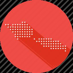 country, location, map, nation, samoa icon
