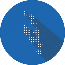 country, location, map, nation, navigation, vanuatu icon
