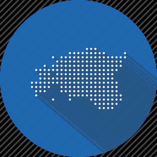 country, estonia, estonian, location, map, nation, navigation icon