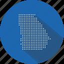 country, georgia, georgian, location, map, nation, navigation icon