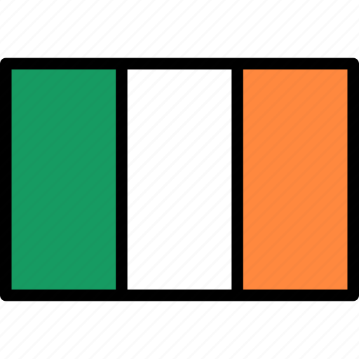 flag, ireland, irish icon