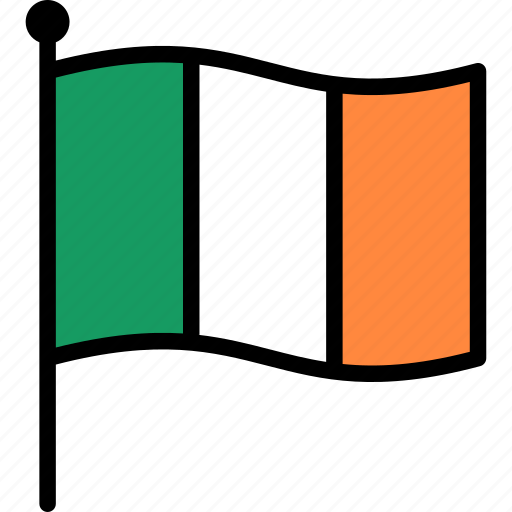 Flag, ireland, irish icon - Download on Iconfinder
