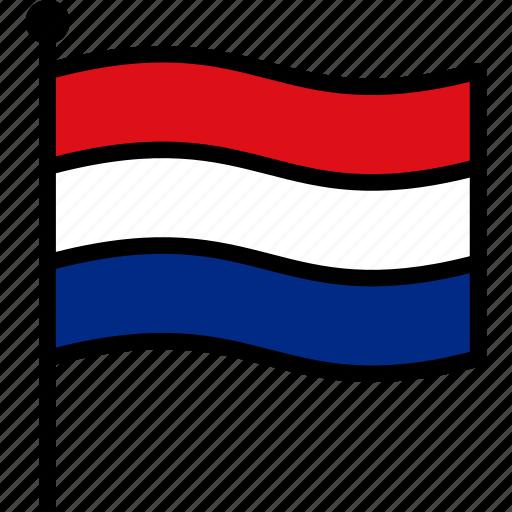 dutch, flag, netherlands icon