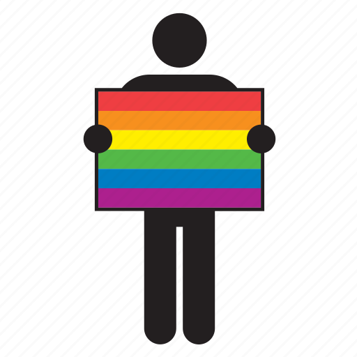 flag, gay, homosexual, lgtb, movement, pride, rainbow icon
